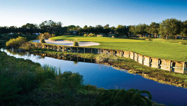 A view of hole #9 at South Course from Innisbrook Resort & Golf Club.