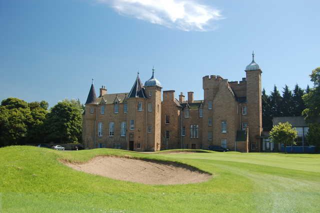 A view from Royal Musselburgh Golf Club
