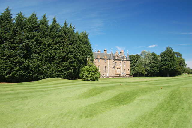 View from a fairway at Royal Musselburgh Golf Club