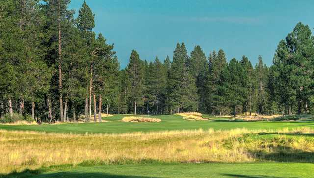 View of the 6th hole from the Meadows at Sunriver Resort