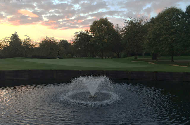 View of the 2nd hole at Robin Hood Golf Club