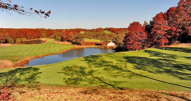 Fall view from Waverly Oaks Golf Club