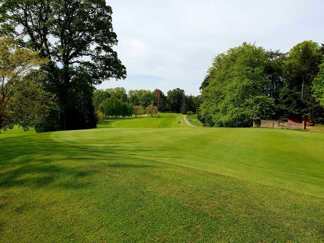 A view of hole #9 at Moyola Park Golf Club.