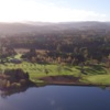 Aerial view from Aboyne Golf Club