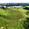 Aerial view from Aboyne Golf Club.
