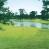 A view of green with water coming into play from right at Ocean View Municipal Golf Course
