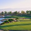 A view from tee #17 at PGA West Greg Norman Course