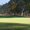 A view of hole #4 at Beachwood Golf Club