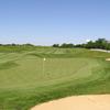 A view of green #3 at Bear Slide Golf Club