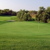A view of the 12th green at Wild Marsh Golf Club