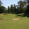 A view from a tee at Mineral Mound Golf Course.