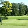 A view of the 1st green at Beresfield Golf Course