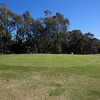 A view of the 3rd green at Deniliquin Golf Club