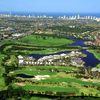 Aerial view from Lakelands Golf Club
