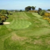 A view of the 1st green at Ava Course from Clandeboye Golf Club