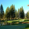 A view of the 15th hole at Old Greenwood Golf Course