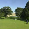 A view of the 13th green at Haddington Golf Club