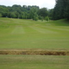 A view of fairway #2 at Lochwinnoch Golf Club