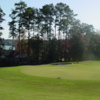 A view of hole #2 at Timberlake Golf Course