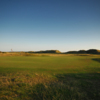 A view of green #5 at Aberdovey Golf Club