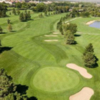 Aerial view of the 1st green at Gold Course from Greg Mastriona Golf Courses at Hyland Hills