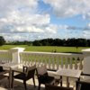A view from the terrace at Wokefield Park Golf Club