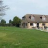 A view of the clubhouse at Iver Golf Club