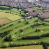 Aerial view from Darlington Golf Club