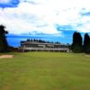 A view of the clubhouse at Ganstead Park Golf Club