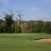 A view of green #11 at Sweetwoods Park Golf Club