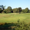 A view of green #7 at Coombe Wood Golf Club.