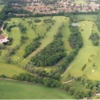 Aerial view from Bishopswood Golf Club