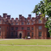 A view of the clubhouse at Broome Park Golf Club