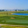 View of the puttin green at Todd Creek Golf Club