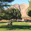 A view of the clubhouse at Kern Valley Golf Course