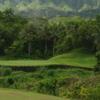 View of the 3rd green at Royal Hwaiian Golf Club