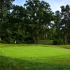 A view of green #3 at Camberley Heath Golf Club