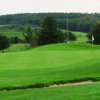 A view of green #9 at Waterton Park Golf Club