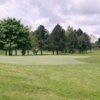 A view of the 1st hole at Kingsdown Golf Club