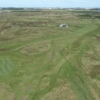Aerial view from Anglesey Golf Club