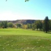 A view of the 9th green at Dinosaur Trail Golf and Country Club