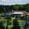 A view of the clubhouse at Pine Knot Golf and Country Club.