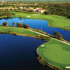 Aerial view from West Bay Golf Club