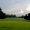 A view of the 18th green at Orgill Golf Course