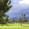 A view of a green at Outdoor Resort & Country Club