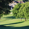 A view from a green at Green Valley Golf Course