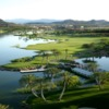 A view from Reflection Bay Golf Club
