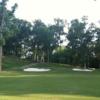 A view of a fairway at John A. White Golf Course