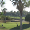 A view of a green at Brea Creek Golf Course