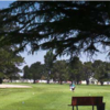 A view of a tee at Salinas Fairways Golf Course